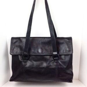 Tignanello Large Leather Shoulder Bag